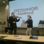 O'Connor Method Lecture/Demonstration with Mark and Maggie O'Connor.