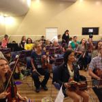 All Camp Orchestra at the O'Connor Method Camp NYC 2015.