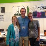 Maggie O'Connor, Mark O'Connor, and Sara Caswell at the O'Connor Method Camp NYC 2015.